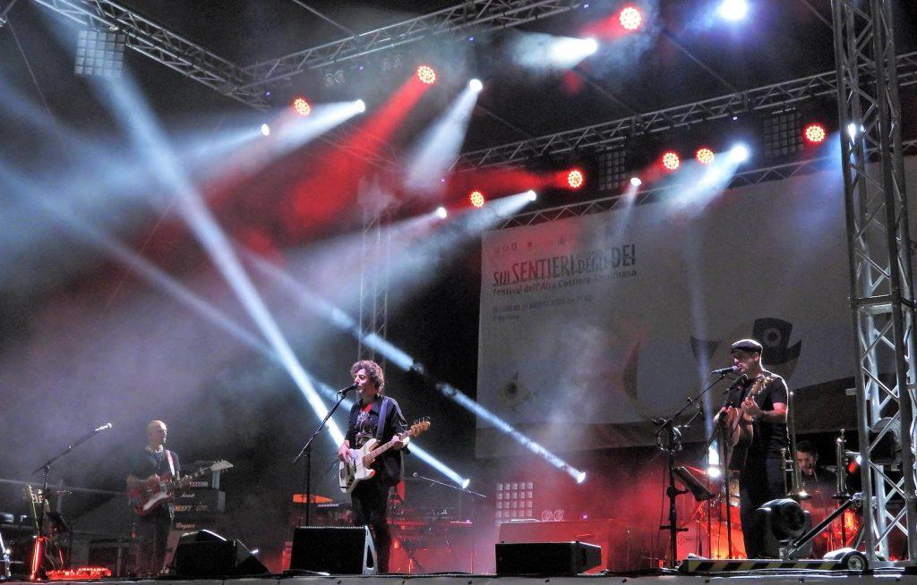 Eventi ad Agerola: concerti di Max Gazzè sul Parco Colonia Montana