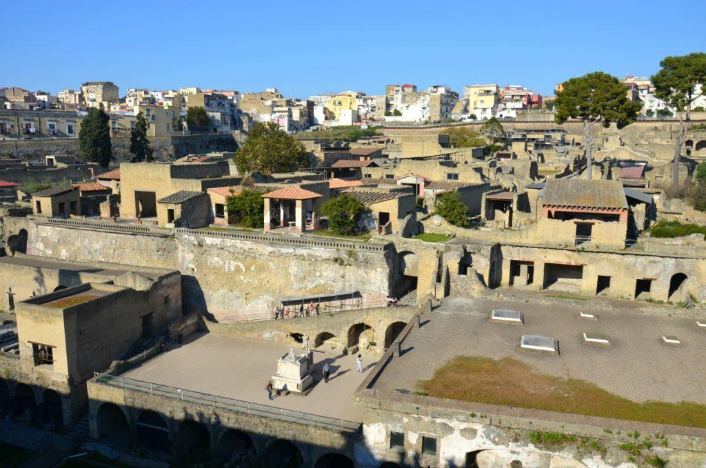 Visitare il sito archeologico di Ercolano
