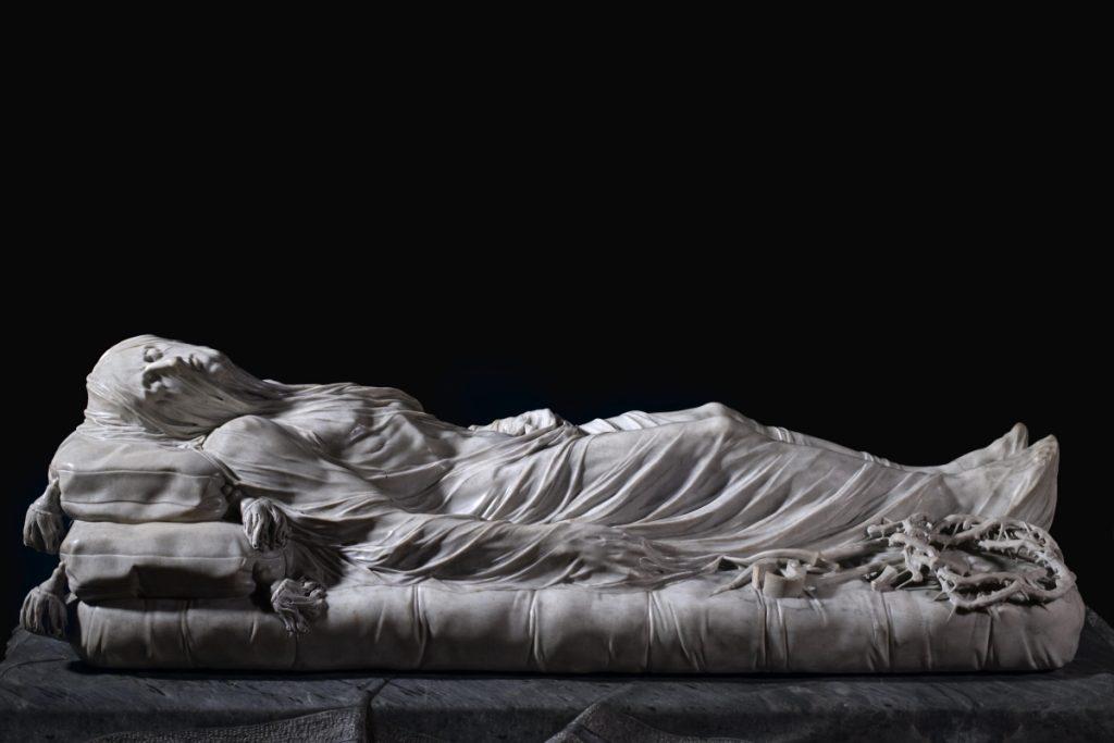Statua del Cristo velato a Napoli