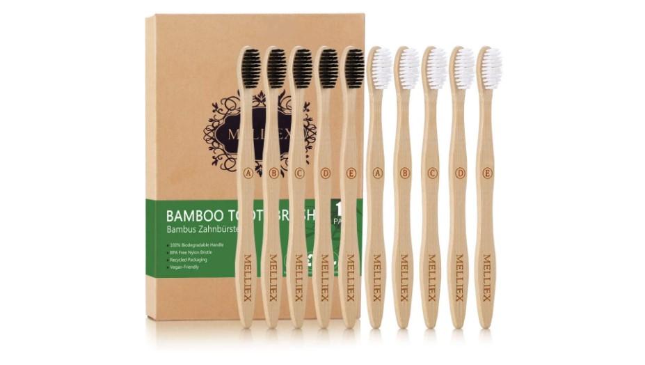 Regali ecologici per viaggiatori: spazzolini in bamboo