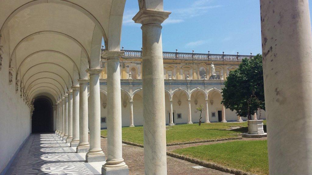 Certosa di San Martino set di Napoli velata