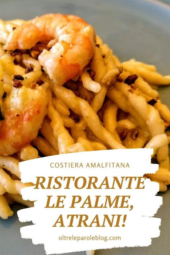 Atrani Le Palme ristorante le palme