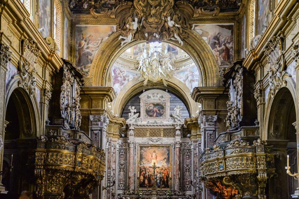 Chiesa di San Gregorio Armeno a Napoli