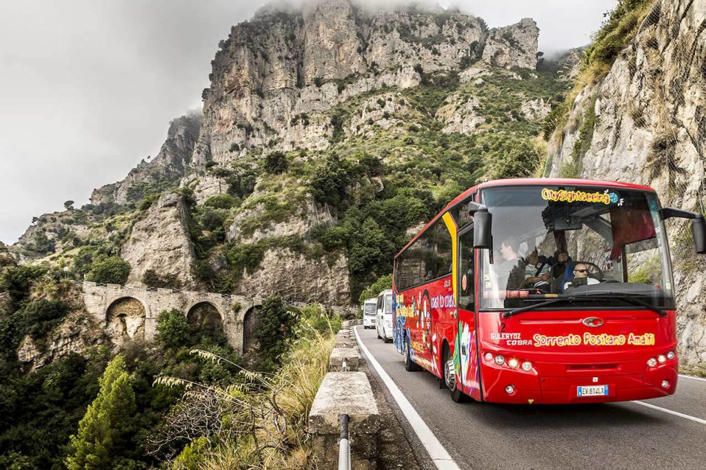 City Sightseeing da Amalfi a Positano