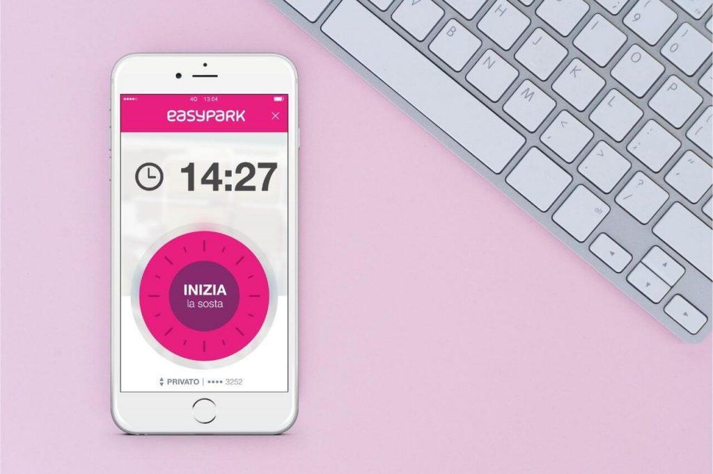 Come attivare il servizio EasyPark tramite l'app