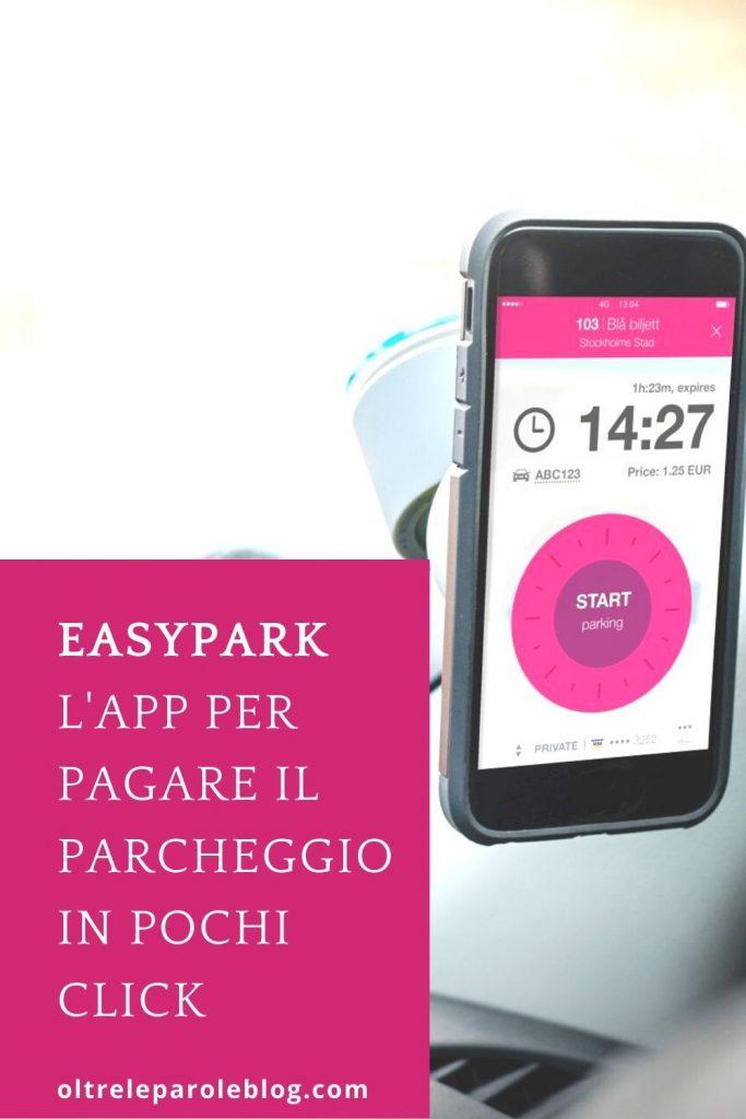 EasyPark app istruzioni EasyPark