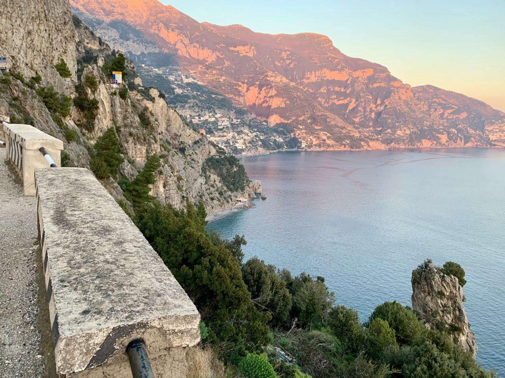 Guidare in costiera amalfitana da Amalfi a Positano