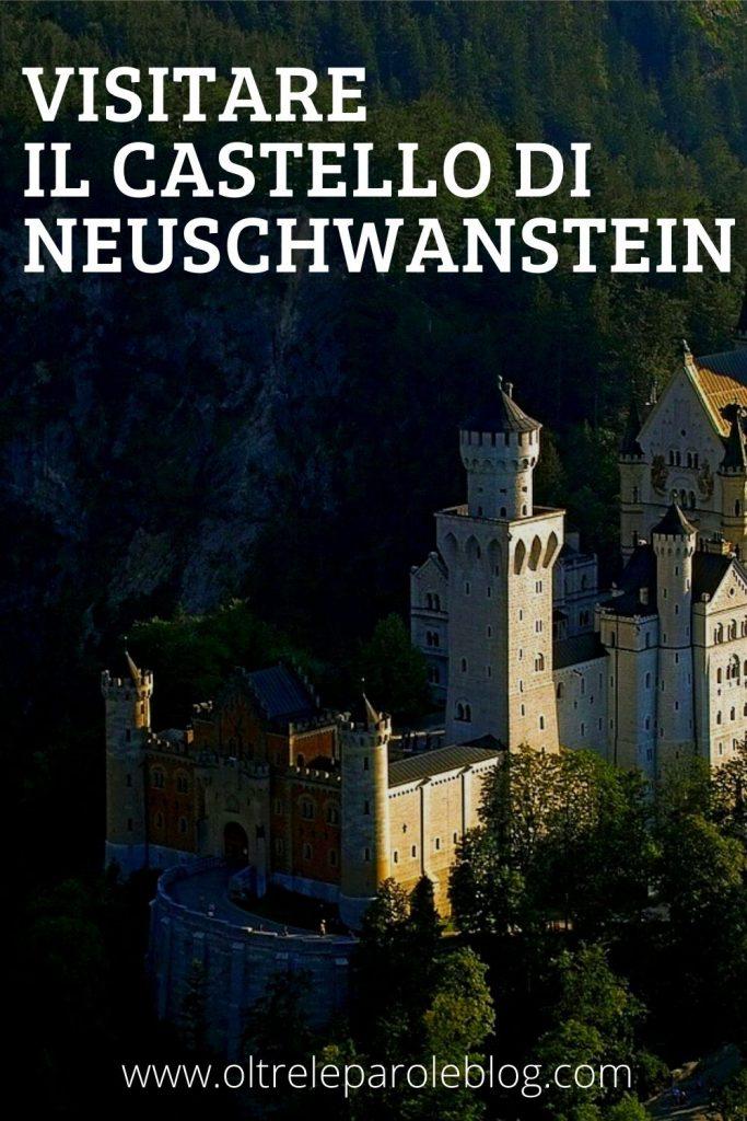 Neuschwanstein Castle pin castello di Neuschwanstein