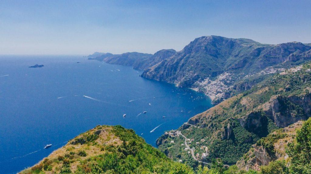 Trekking sul sentiero degli Dei in Costiera Amalfitana