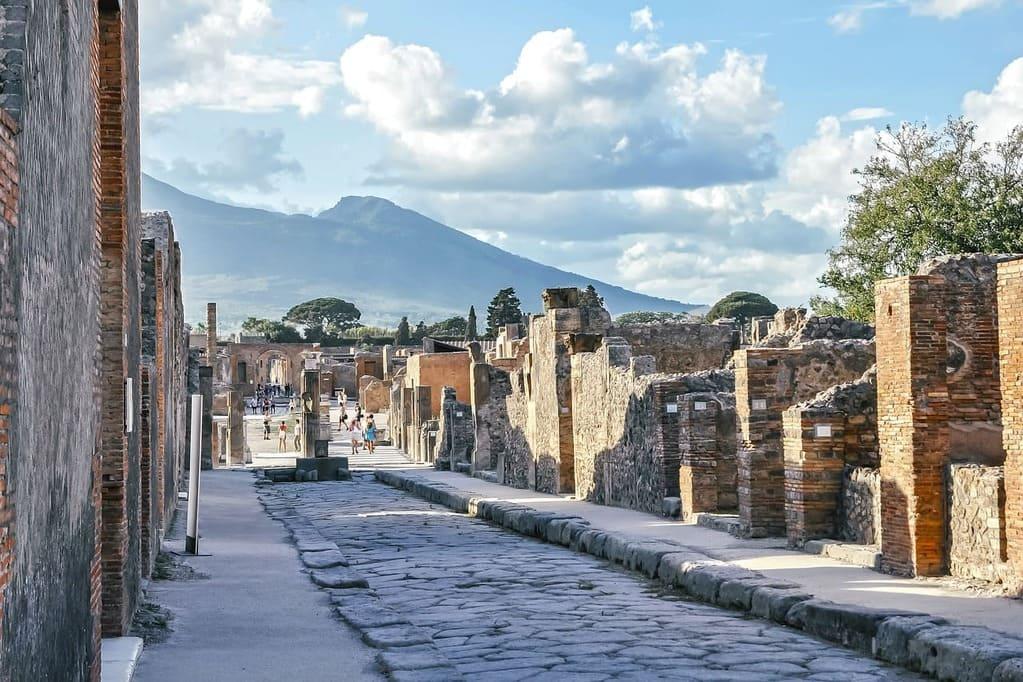 Biglietti per gli scavi di Pompei