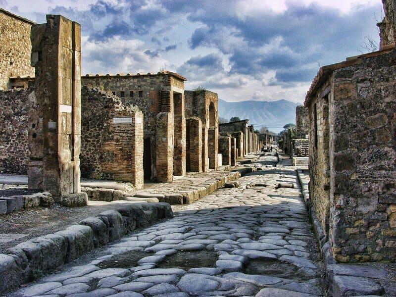 Parco archeologico scavi di Pompei - Foto da Pixabay