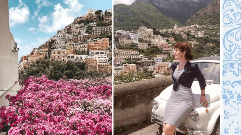 Valentina Scannapieco a Positano