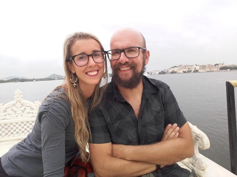 Silvia e Davide del blog Bagaglio Leggero