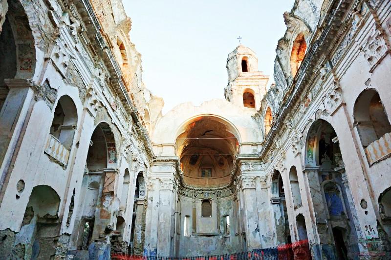 Paesi fantasma: Bussana Vecchia in Liguria