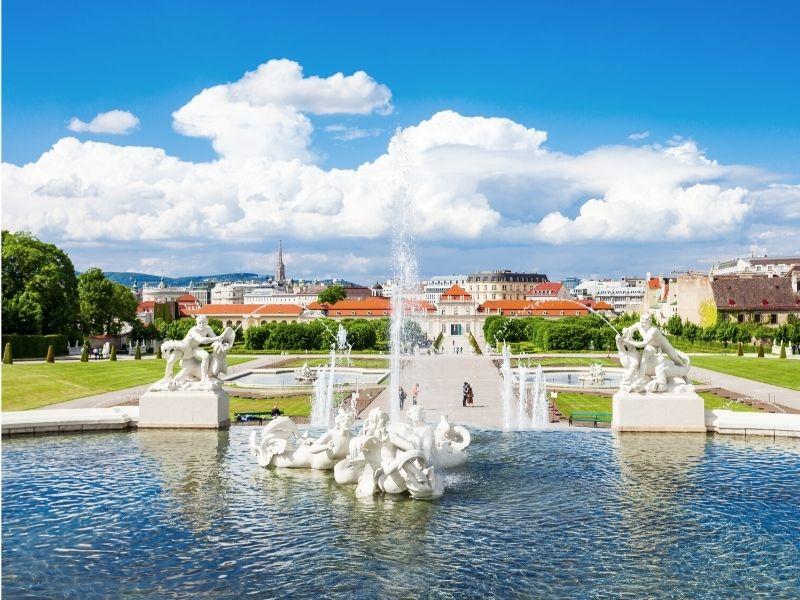 Le fontane del castello