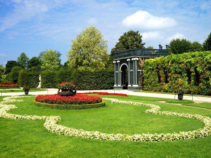I giardini del castello di Schönbrunn