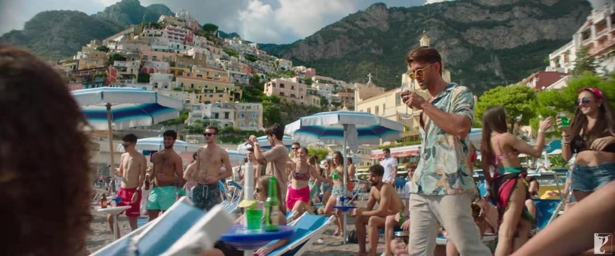 War, film girato a Positano