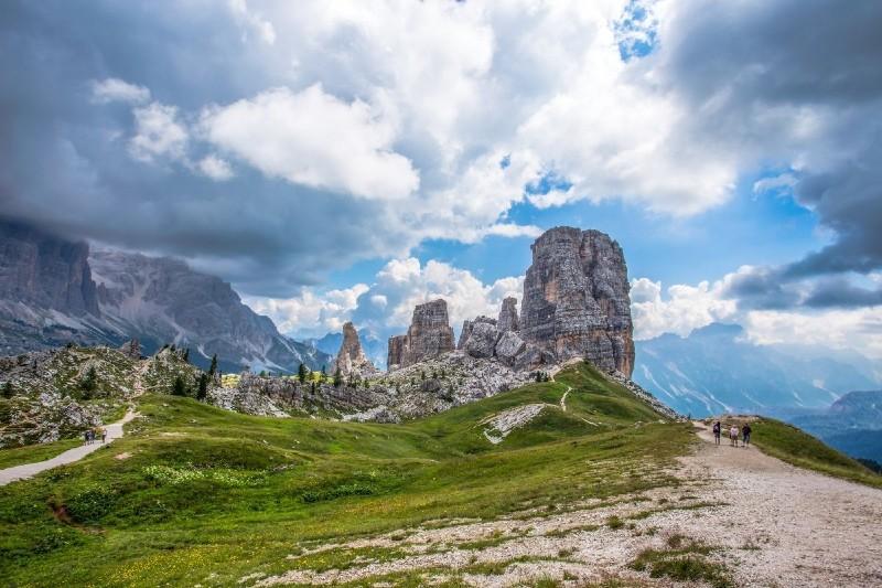 5 Torri, Dolomiti