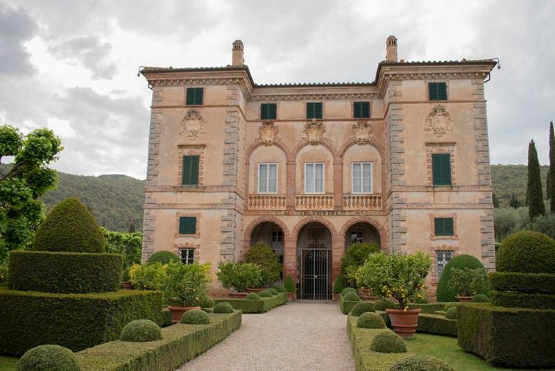 Villa Cetinale e i giradini barocchi